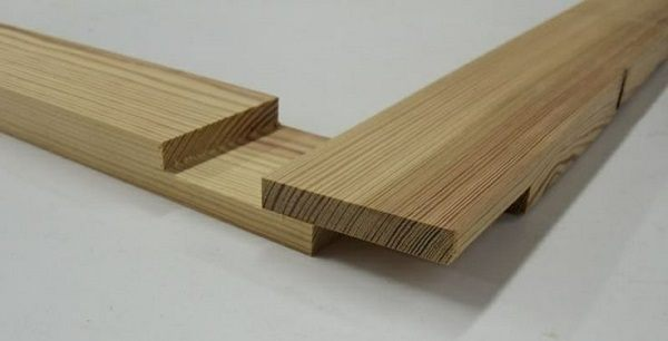 Half lap -circular saw joint.